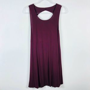 American Eagle Purple Mini Tunic Dress